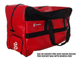 DRYSNAKE hockey player pro bag red