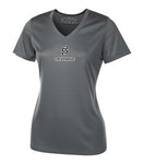 Dry fit V-NECK SHORT SLEEVE (Ladies)