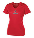 T-shirt performance COL EN V (Femmes) / Dry fit V-NECK SHORT SLEEVE (Ladies)