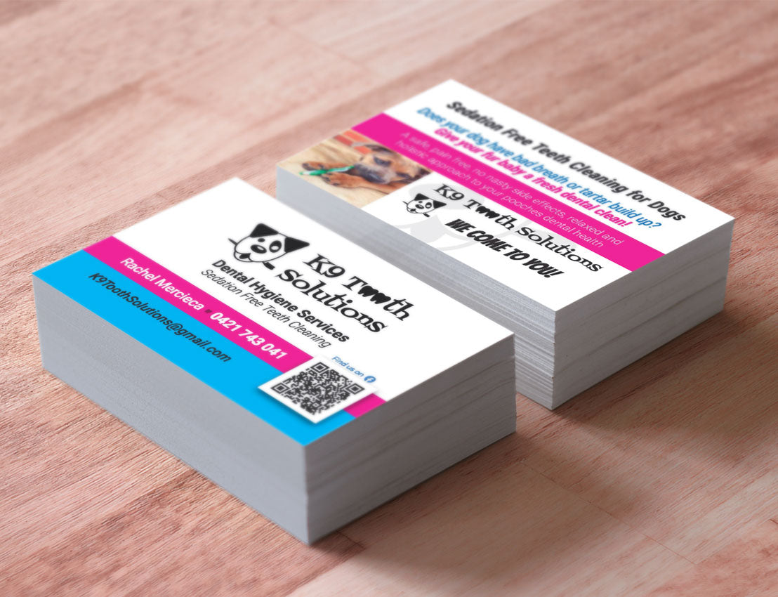 250   Business Cards  420gsm,  Matt Cello Two Sides