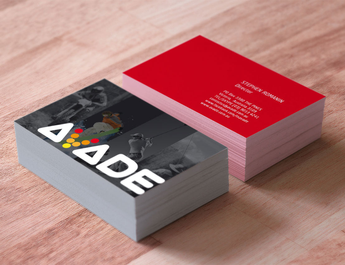 500   Business Cards  420gsm,  Matt Cello Two Sides