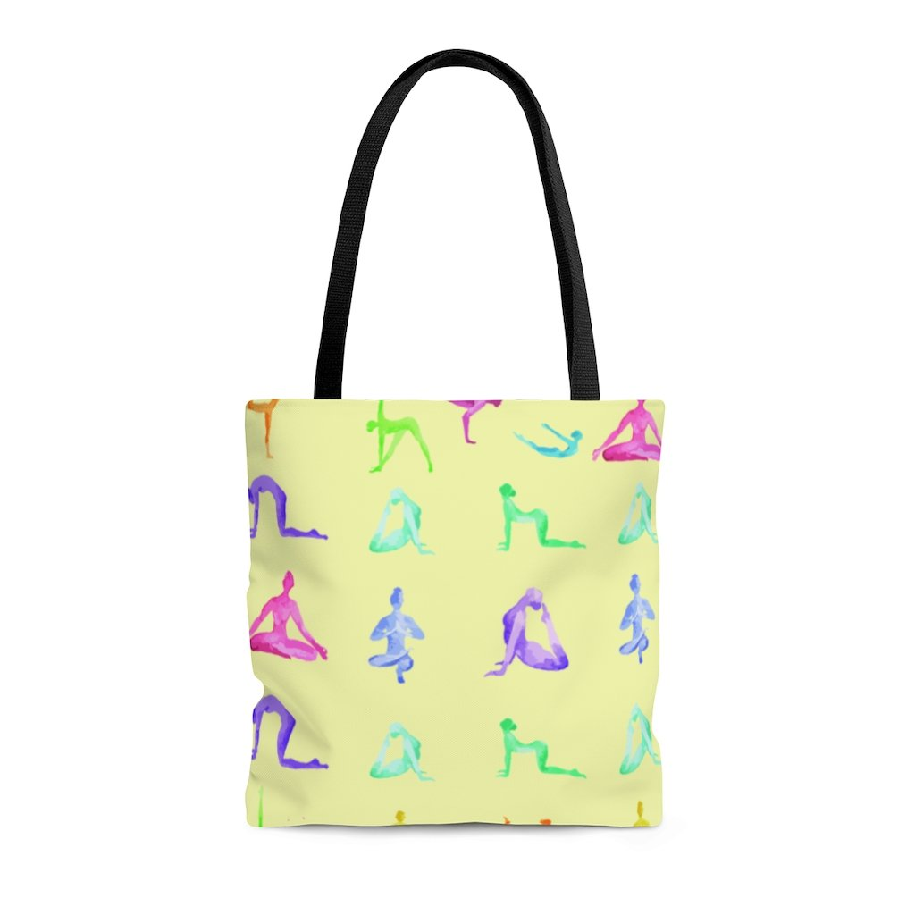 Yoga Sanctuary Everyday Yellow Tote Bag