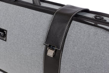 Load image into Gallery viewer, BAM Grey Flannel Hightech Oblong Viola Case