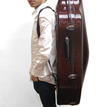 Load image into Gallery viewer, JW-EASTMAN Carbon Fiber Cello Case 2.9/Red Woved