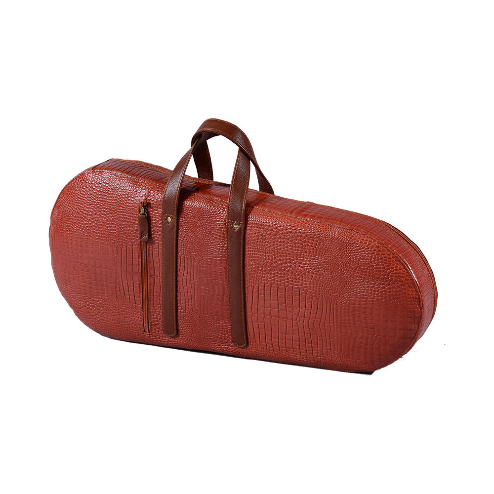 HGC Elegance Series Liuqin Leather Case Oblong/ Red