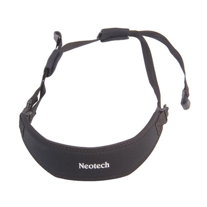 NEOTECH ACOUSTIC GUITAR STRAP, BLACK