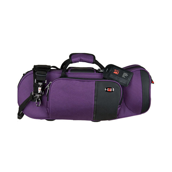 PROTEC Travel Light Trumpet Pro Pac Case/ Purple