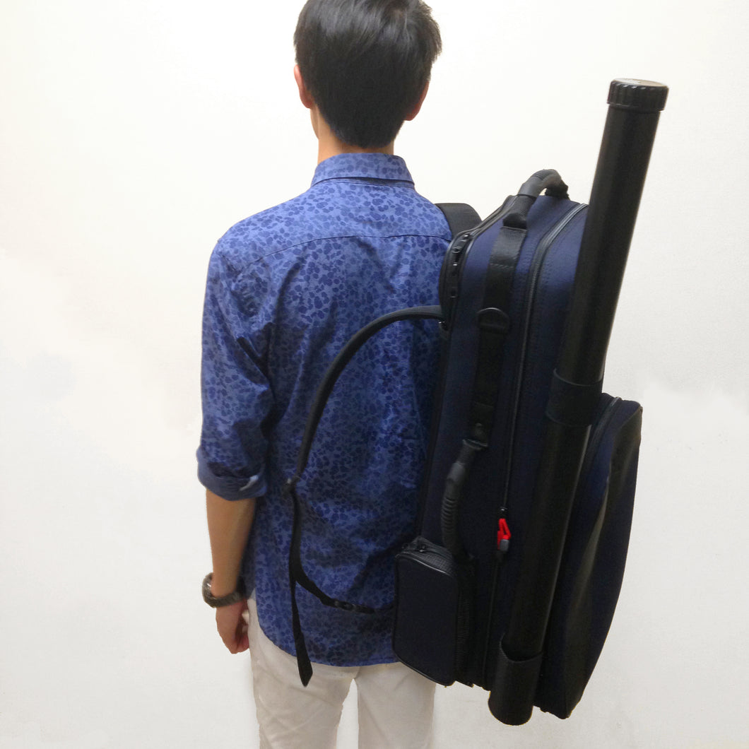 BAM Violin Case Trekking /Navy Blue