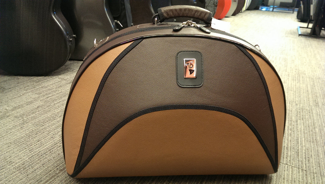 French horn case model MB-7L Brown and Light Brown