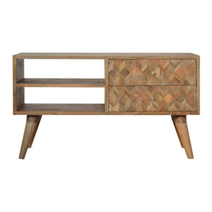 Cabinet Natural Assorted TV Unit | Chestnut or Natural