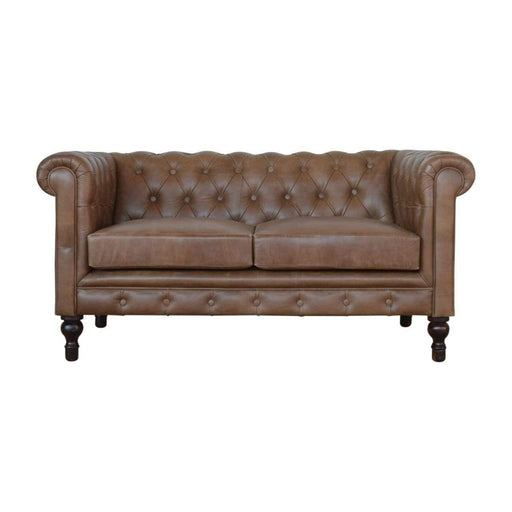Seating Chesterfield Sofa | 2 Seater | Brown Leather