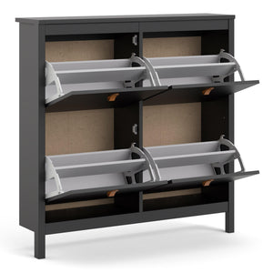 Barcelona Shoe cabinet 4 compartments