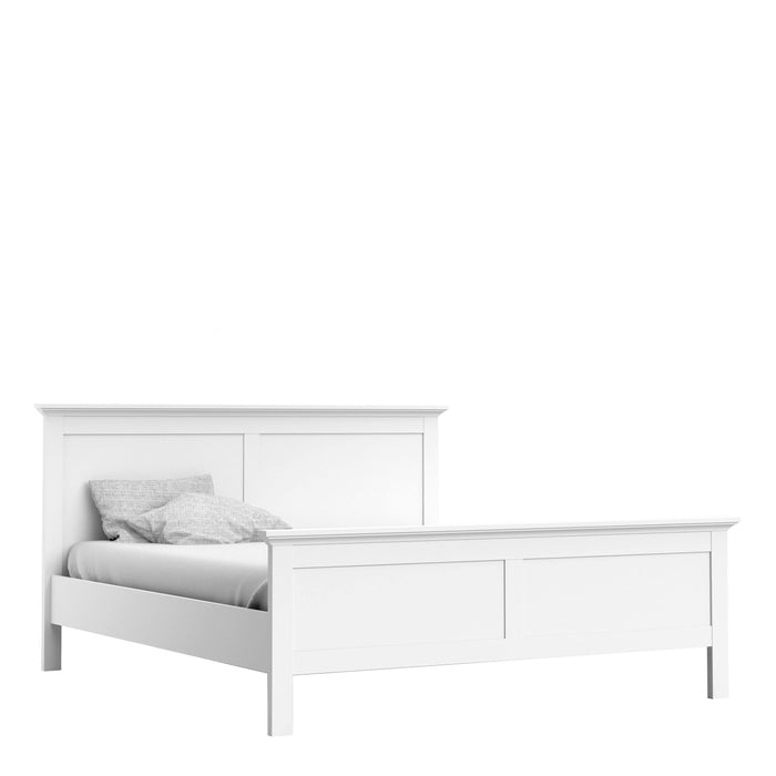 Bed Paris Super King Size Bed | White