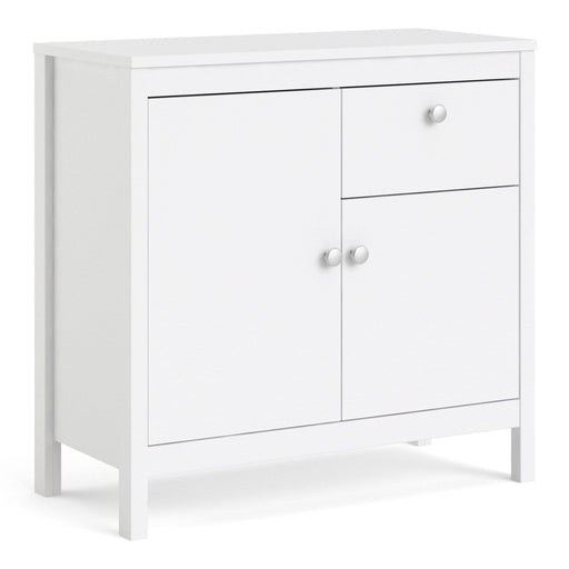 Cabinet Madrid Sideboard | 2 Doors | 1 Drawer | White