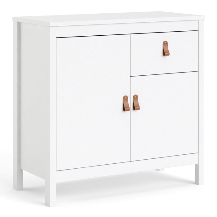 Cabinet White Barcelona Sideboard | 2 doors + 1 drawer | White or Matt Black