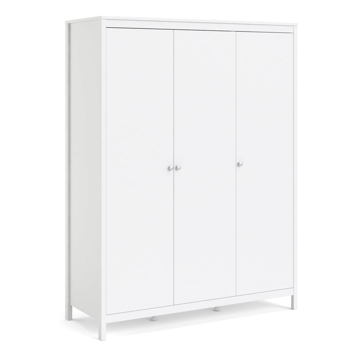 Madrid | Wardrobe | 3 Doors | White