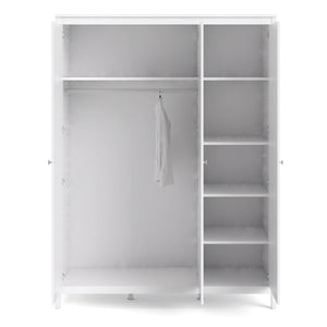 Wardrobe Madrid | Wardrobe | 3 Doors | White