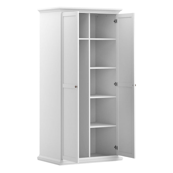 Wardrobe Paris Wardrobe | 2 Doors | White