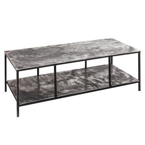 Table Farrah | Coffee Table | Cast Silver