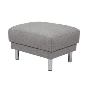 Accessories Light Grey Cleveland Footstool | Light Grey or Antracit
