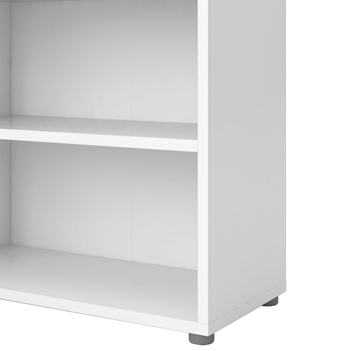 Prima Bookcase  |White | 3 Sizes