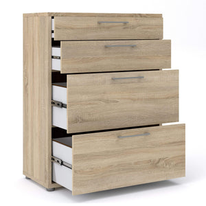Prima | Filing Cabinet | 2 Shelves | 2 Drawers |2 Filing Drawers | 3 Colours