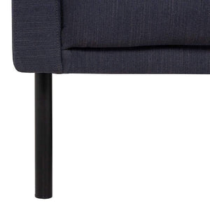 Seating Black Legs Larvik Armchair | Antracit | Black or Oak Legs