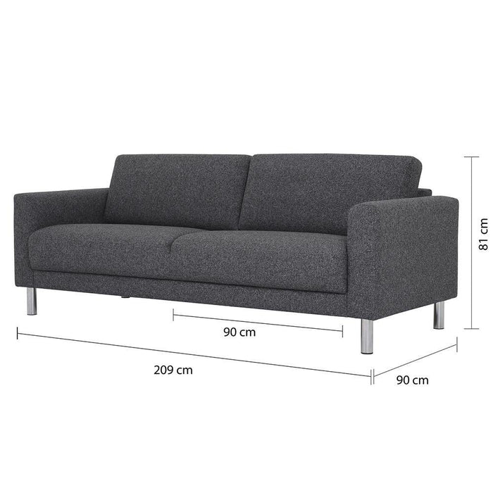 Seating Cleveland 3 Seater Sofa | Light Grey or Antracit