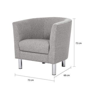 Seating Cleveland Armchair | Light Grey or Antracit