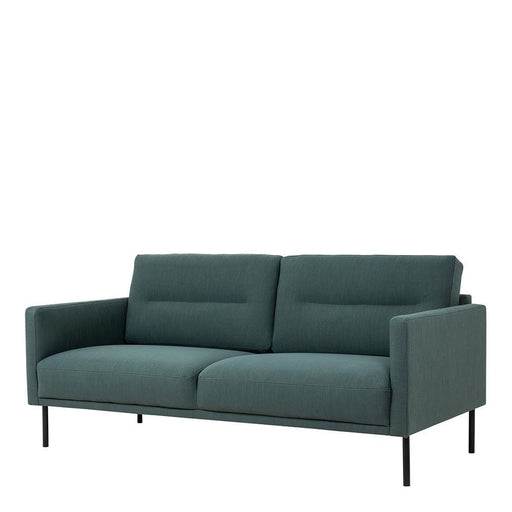 Seating Larvik 2.5 Seater Sofa | Dark Green | Black or Oak Legs
