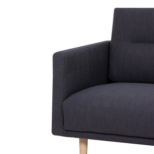 Seating Larvik 3 Seater Sofa | Antracit | Black or Oak Legs