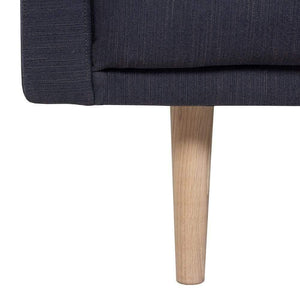 Seating Oak Legs Larvik 3 Seater Sofa | Antracit | Black or Oak Legs