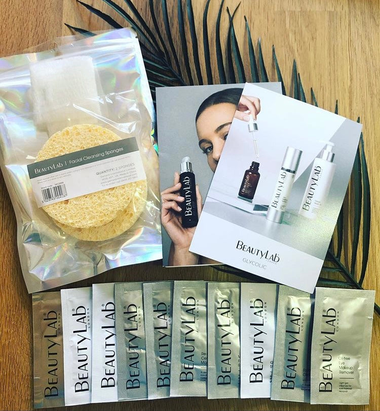BeautyLab Facial At Home Kit - Glycolic