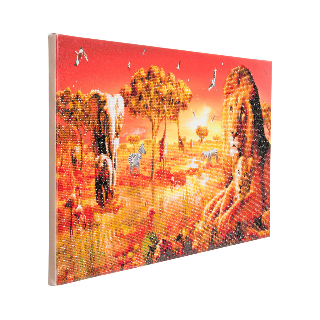 Crystal art kit safari sunset