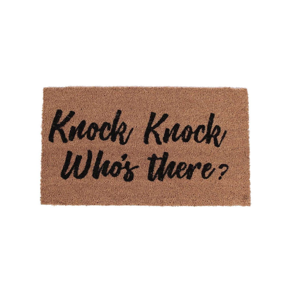deurmat knock knock who's there? 40x70cm