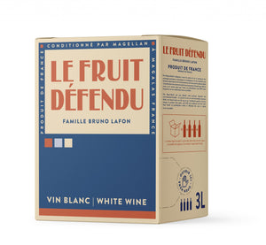 LE FRUIT DEFENDU, Vin de France, Blanc, 2020