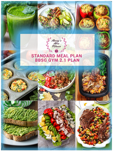 BBSG 2.1 Gym Bundle With Standard Monthly Meal Plan and Custom Nutrition Guide