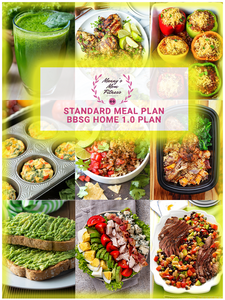 BBSG 1.0 Home Bundle With Standard Monthly Meal Plan and Custom Nutrition Guide