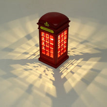 Load image into Gallery viewer, Table Lamp Retro London Telephone Booth