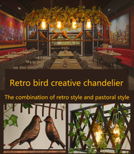 Load image into Gallery viewer, Vintage Bird Pendant Light