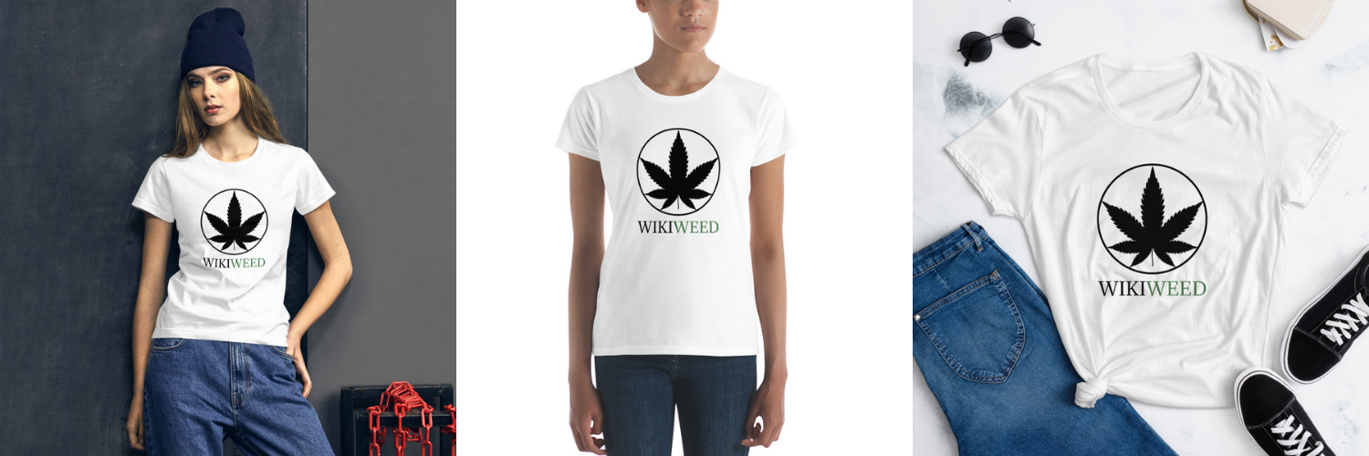 Tshirt Classical Wikiweed pour femme