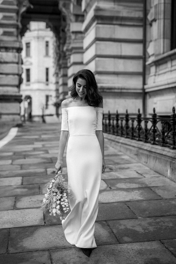 Damiana black and white | Wedding dress | Sophie et Voilà