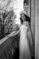 Deidre black and white | Wedding dress | Sophie et Voilà