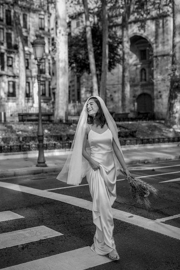 Dorotea black and white | Wedding dress | Sophie et Voilà