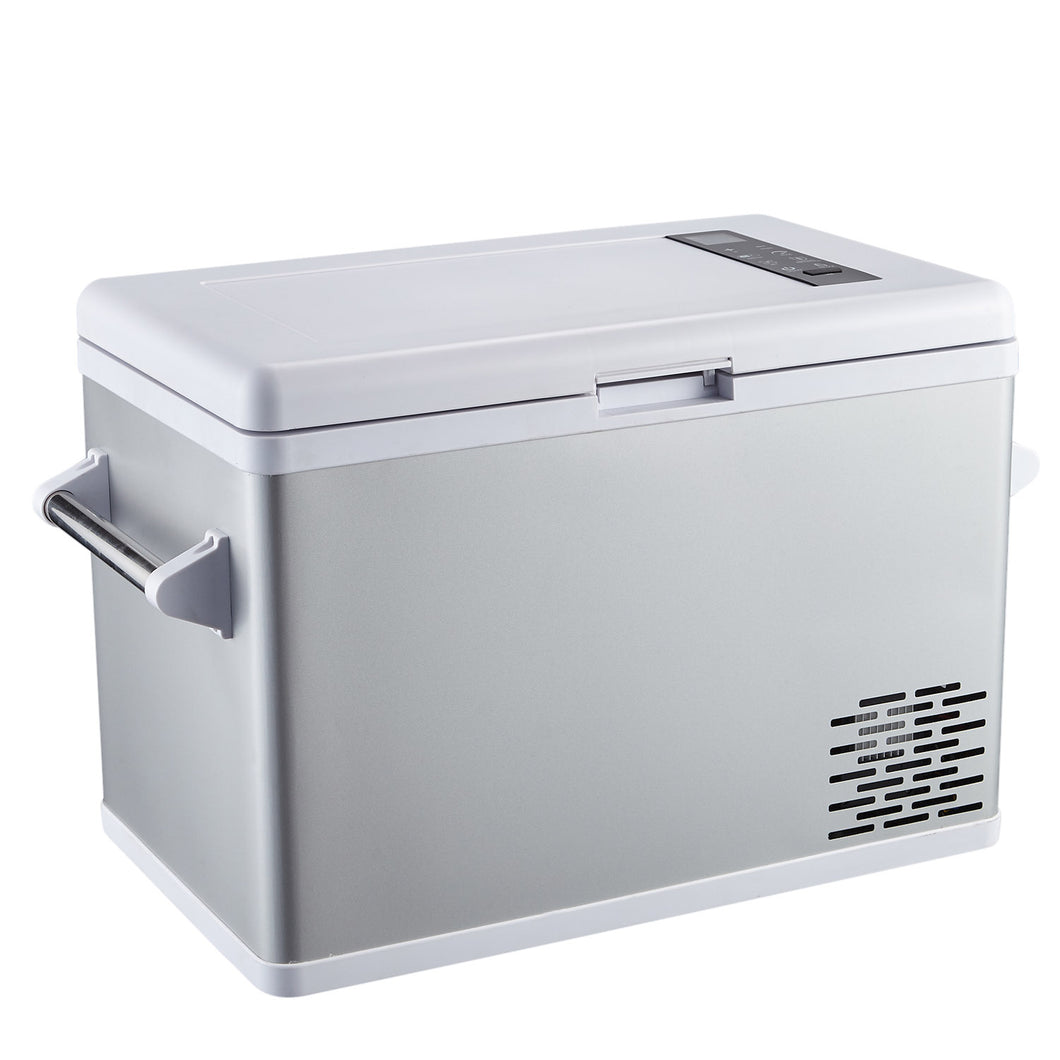 APR-42S-Ausranvik12 volt Portable Refrigerator Freezer, Car Fridge Cooler with Compressor-20°C (-4°F), Vehicle, Car, Truck, RV, Boat,12V DC and 110/220V AC,Fridge Freezer for Driving, Camping, Travel, Fishing-Ausranvik