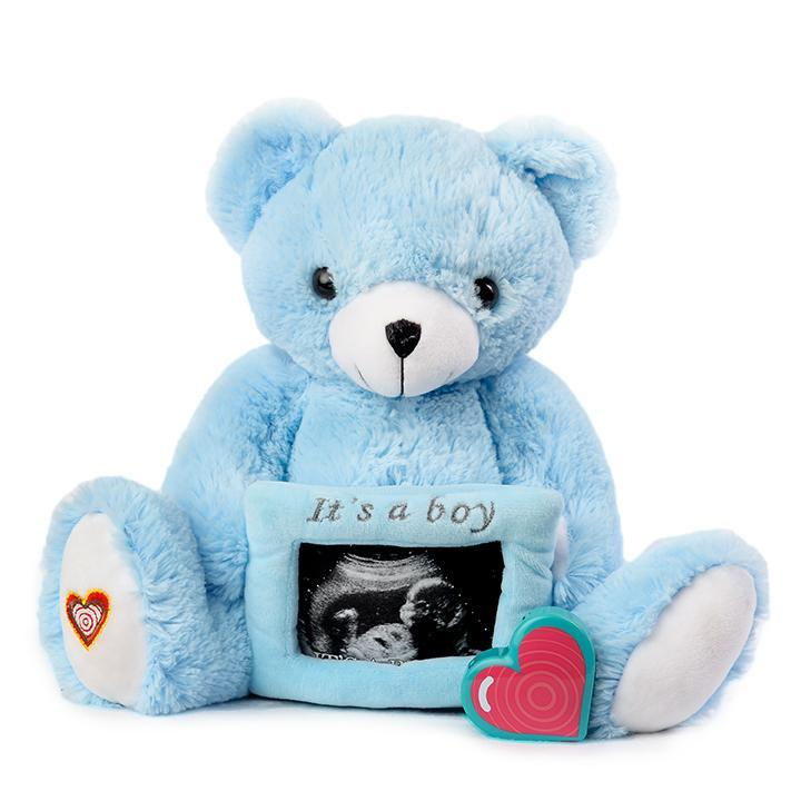 Gender Reveal Bear - Boy - Blue