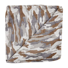 Load image into Gallery viewer, Camo Muslin Swaddle Blanket