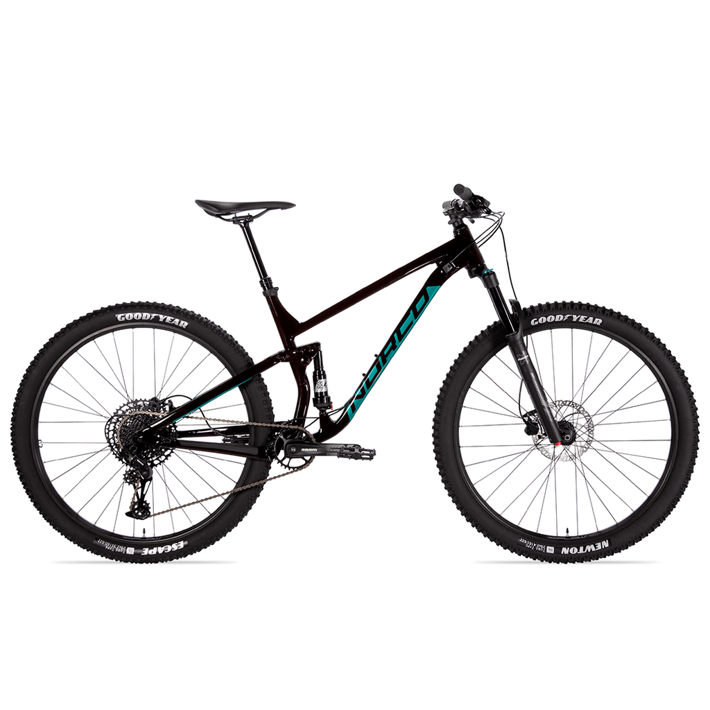 BIKE NORCO FLUID FS 3 27.5'' RED/GREEN 2021