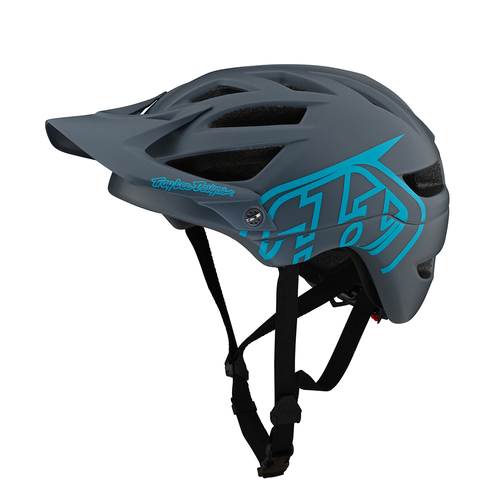HELMET TROY LEE DESIGNS A1 DRONE GREY/BLUE