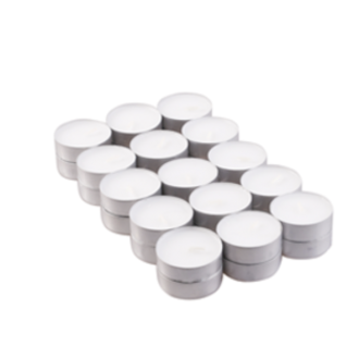 White Unscented Tealights (4hr)
